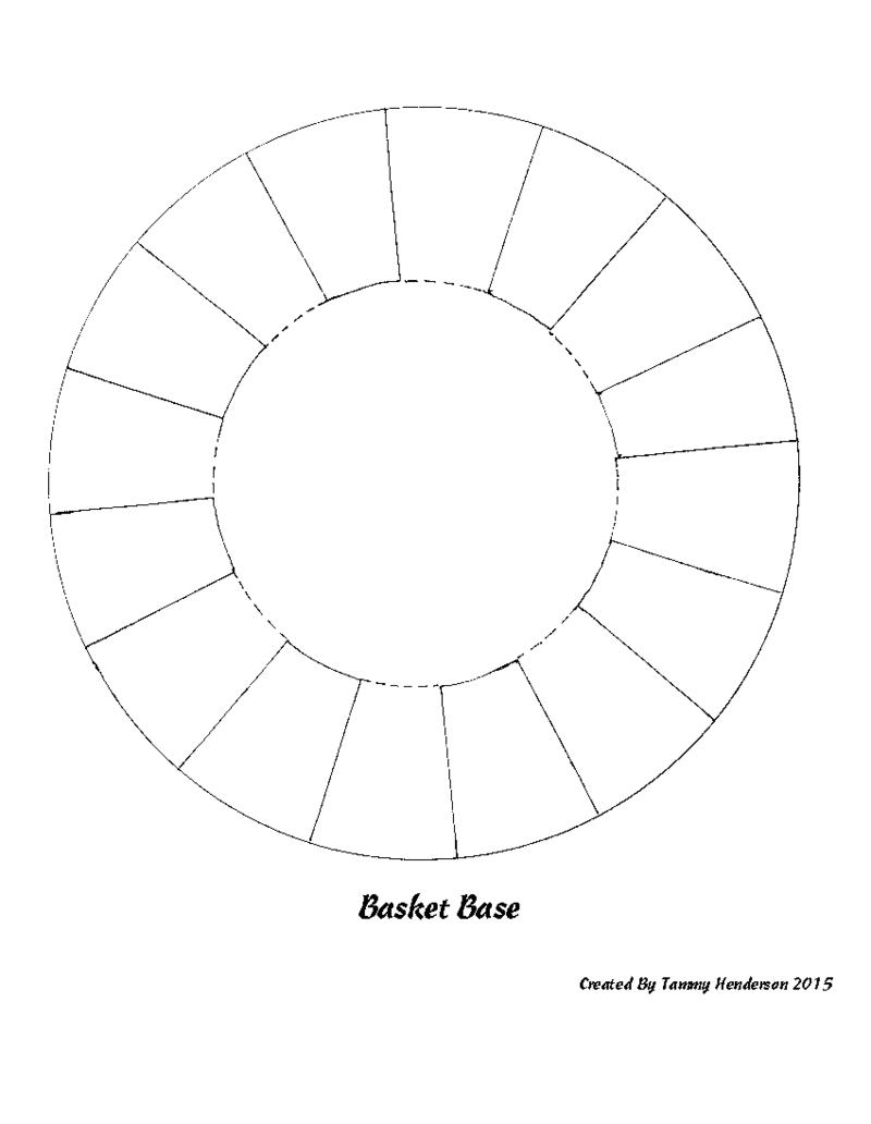 Easter Basket Base