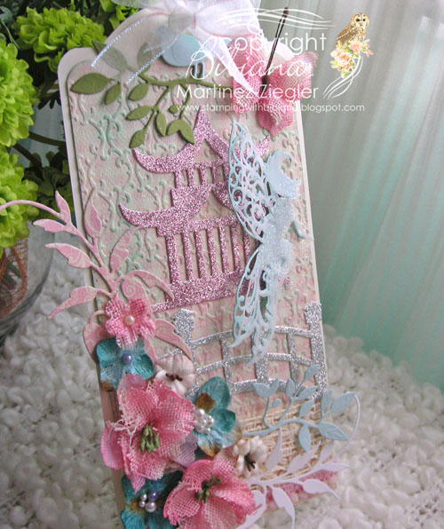 Shabby chic tag side