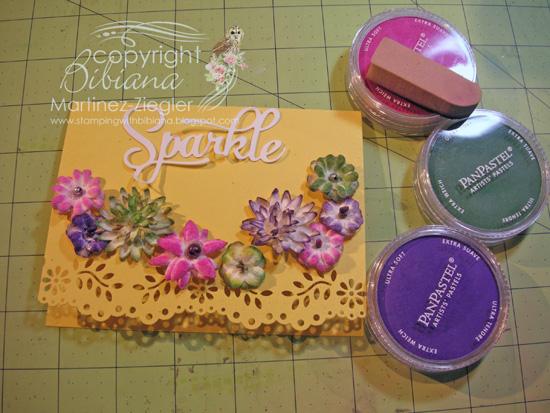 Flowers paintables panpastels