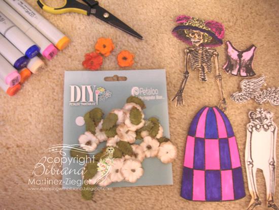 Catrina doll supplies