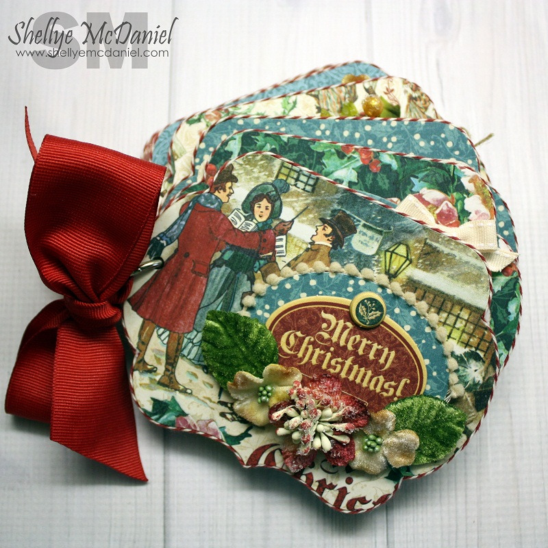Shellye McDaniel-Christmas Carol Mini Album1