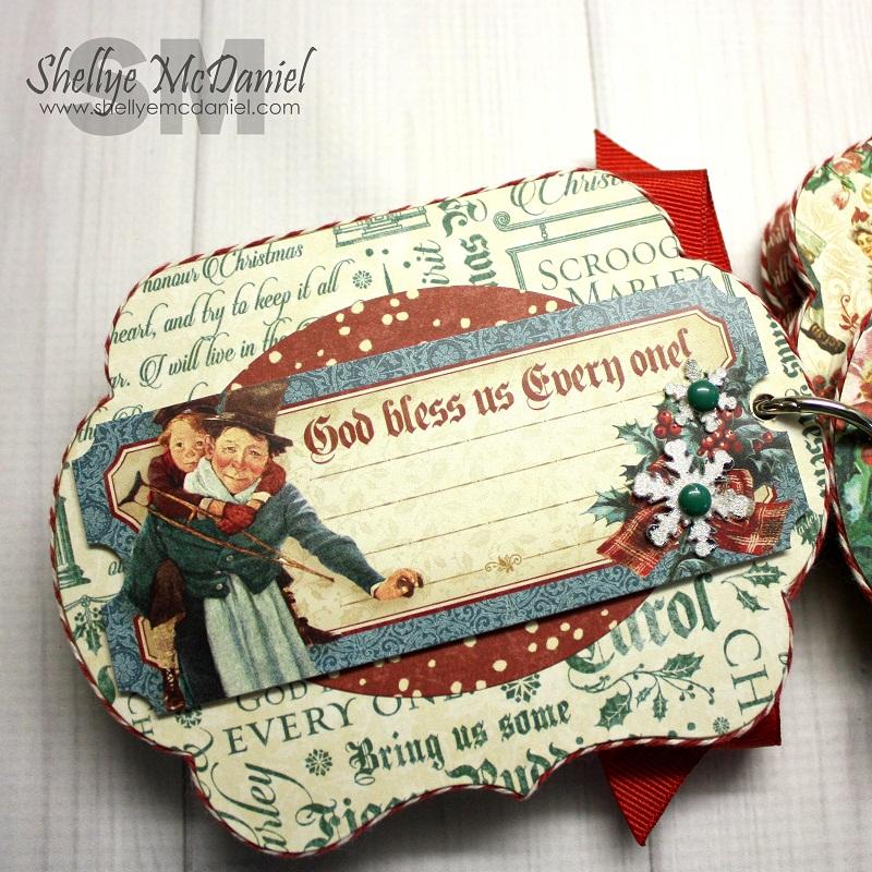 Shellye McDaniel-Christmas Carol Mini Album4