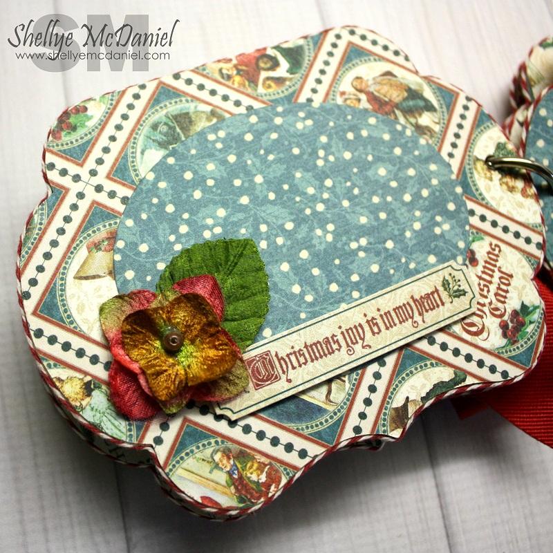 Shellye McDaniel-Christmas Carol Mini Album6