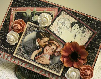 Darjeeling Anenome ANGELED card