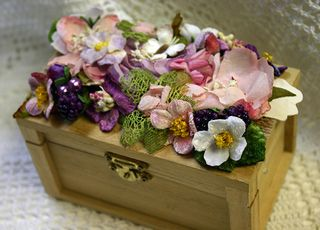 Botanica decorated Box