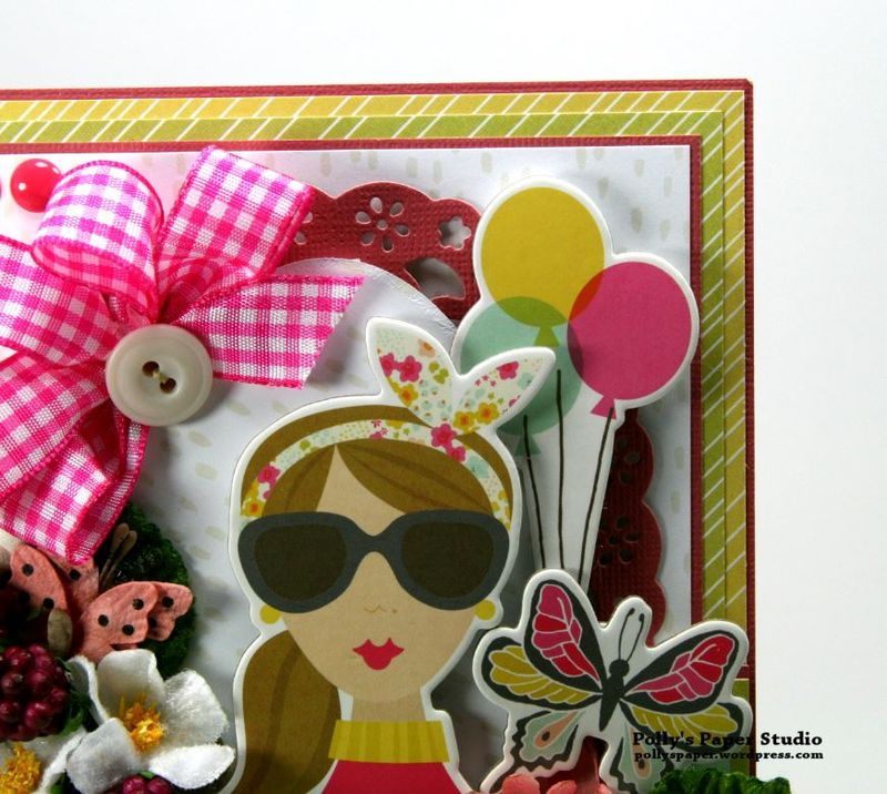 Sunshine & Happiness Card Simple Stories Petaloo 3