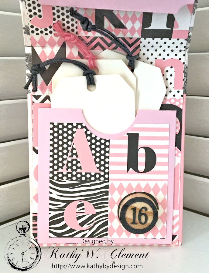 Graduation Folio by Kathy Clement for Petaloo Canvas Corp Blog Hop 06