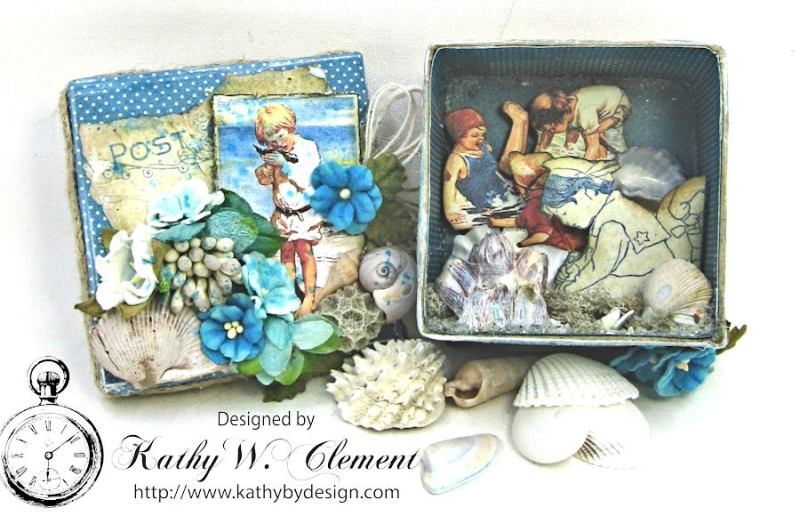 Seashore Treasure Box by Kathy Clement for Petaloo International, Product Graphic 45 Children's Hour Photo 5