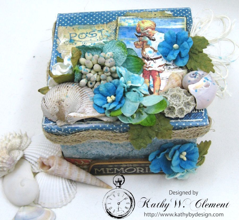 Seashore Treasure Box by Kathy Clement for Petaloo International, Product Graphic 45 Children's Hour Photo 2