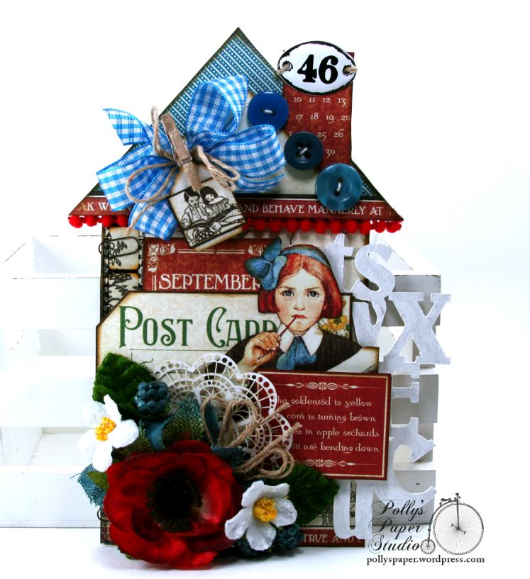 Back To School House Tag 1