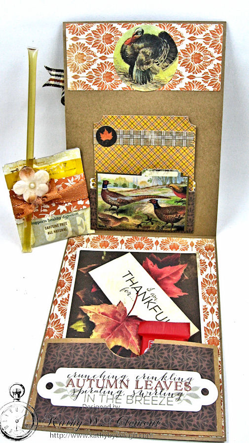 Thankful Card, Harvest, by Kathy Clement, Product by Authentique, Photo 6