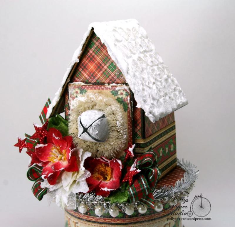 St. Nicholas Christmas House Holiday Home Decor 04