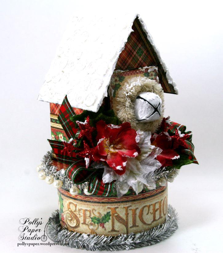 St. Nicholas Christmas House Holiday Home Decor 05