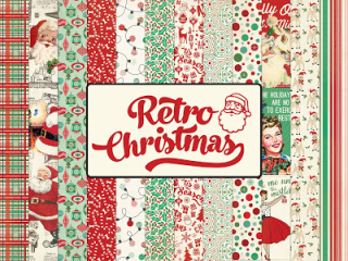 Retro Christmas-sneak peek