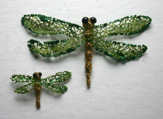 Dragonfly two sizes