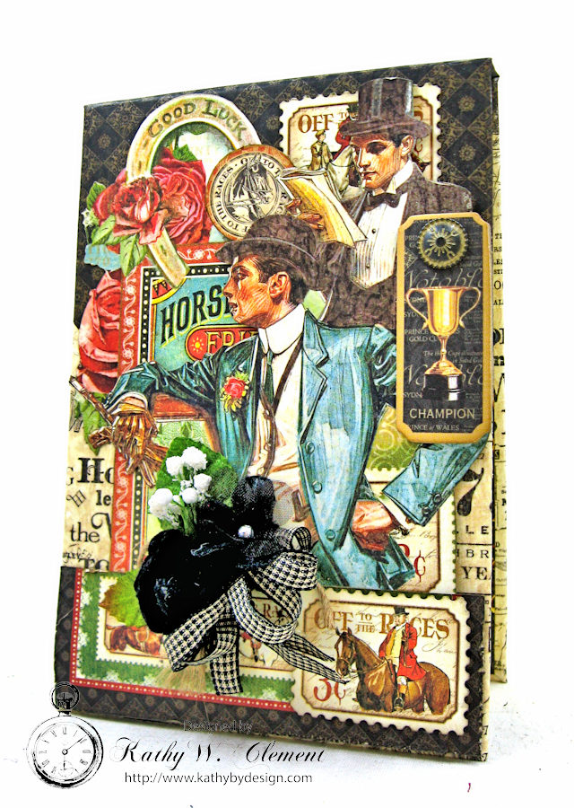 Off to the Races Honey Do List Pad by Kathy Clement for Petaloo International Photo 2