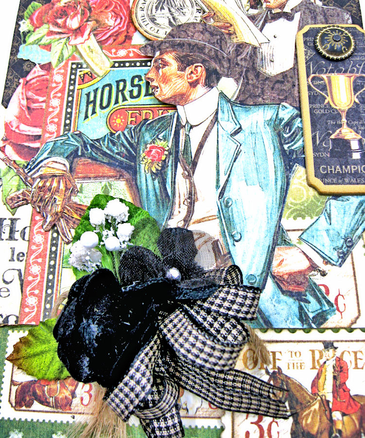 Off to the Races Honey Do List Pad by Kathy Clement for Petaloo International Photo 3