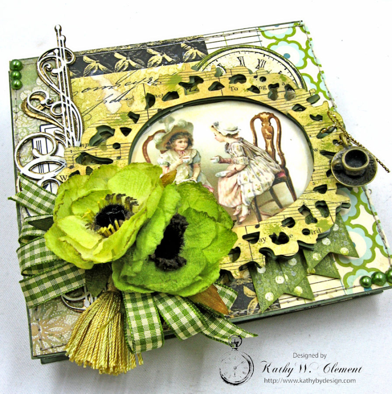 St Patricks Day Easel Card by Kathy Clement for Petaloo International Phot 8 jpg