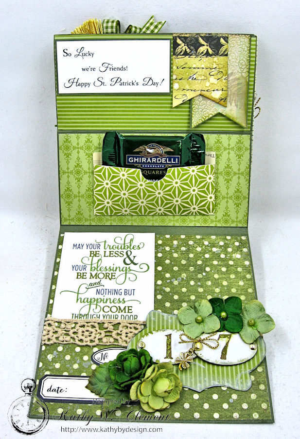 St Patricks Day Easel Card by Kathy Clement for Petaloo International  Photo 7