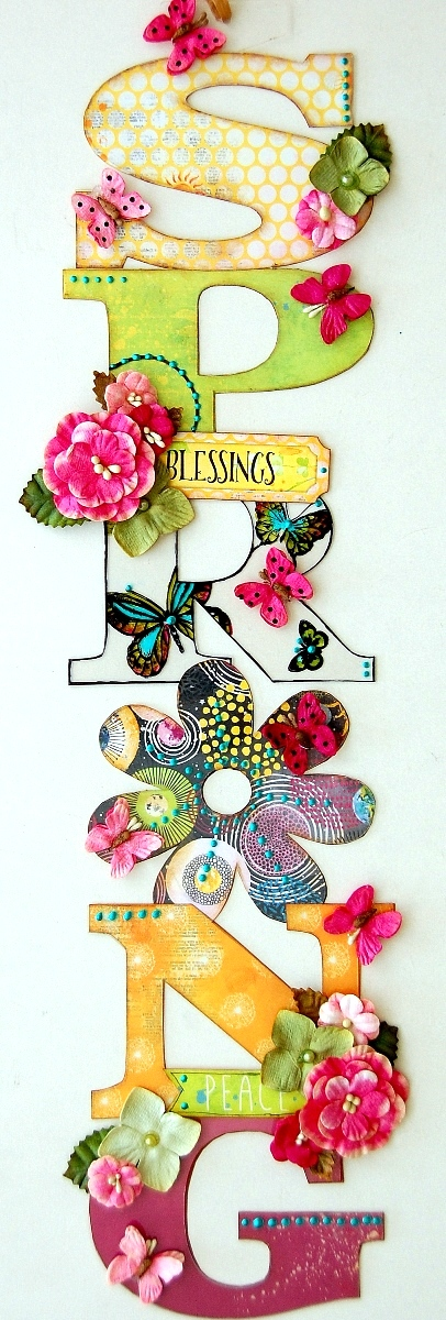 Spring Wall Decor by Irene Tan 01