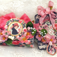 Candy box & tag  Botanicas  Mon Amour  Maggi Harding  Petaloo  Graphic 45 (1)