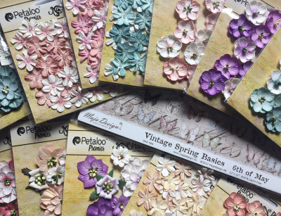 Paper and flowers 3