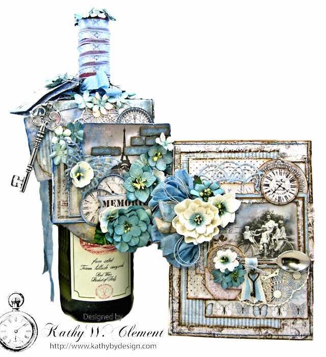 Hostess Gifts for Summer Parties by Kathy Clement for Petaloo by Floracraft Maja Design Spotlight Photo 1