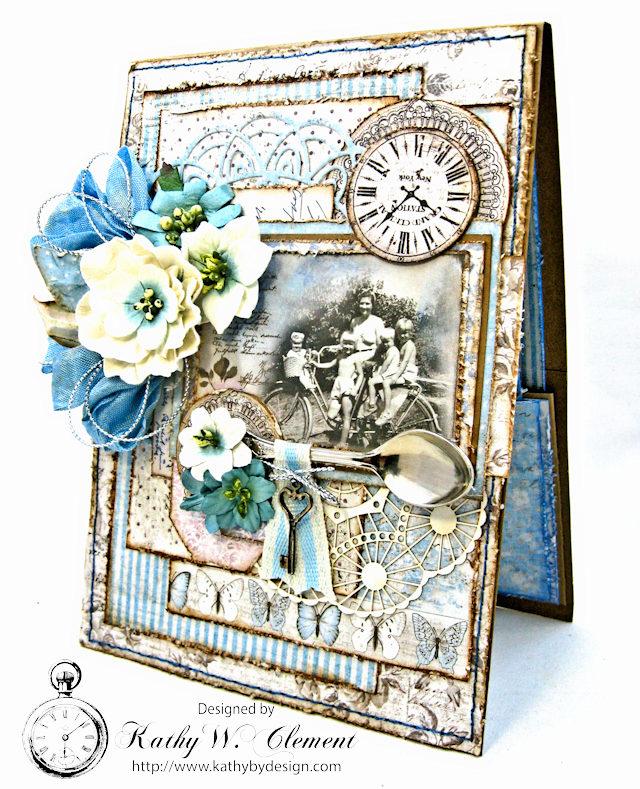 Shabby Chic Gift Folio by Kathy Clement for Petaloo by Floracraft Maja Design Spotlight  Photo 2