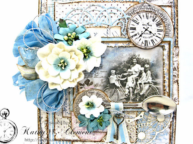 Shabby Chic Gift Folio by Kathy Clement for Petaloo by Floracraft Maja Design Spotlight Photo 4