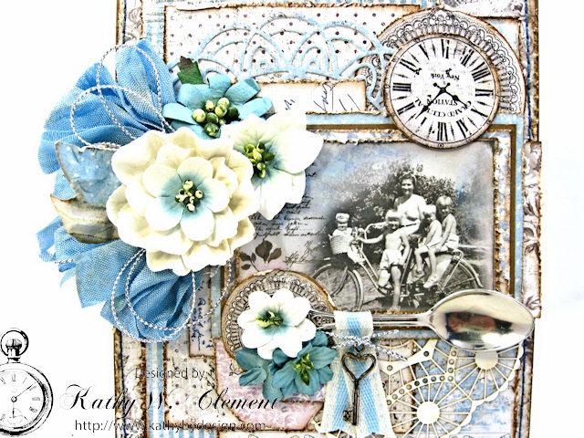 Shabby Chic Gift Folio by Kathy Clement for Petaloo by Floracraft Maja Design Spotlight  Photo 4