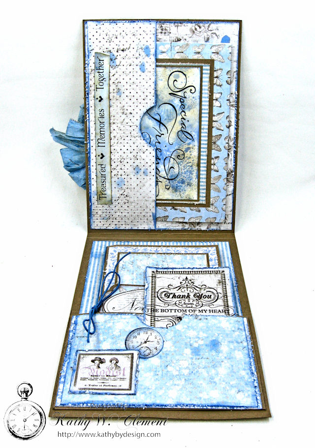 Shabby Chic Gift Folio by Kathy Clement for Petaloo by Floracraft Maja Design Spotlight  Photo 5