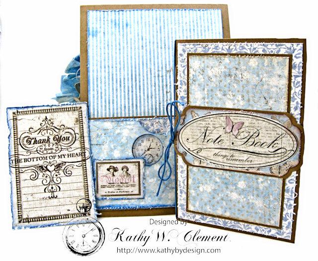 Shabby Chic Gift Folio by Kathy Clement for Petaloo by Floracraft Maja Design Spotlight  Photo 10