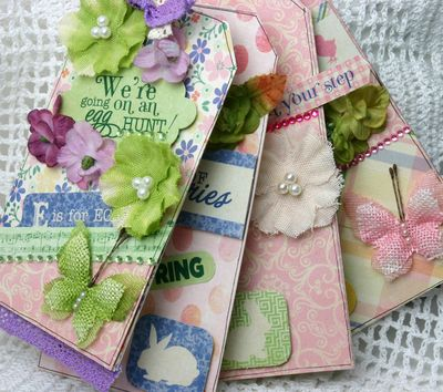 BEAUTY Burlap & Canvas Authentique Mini Book