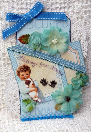 BEUATY Botanica Tag BLUE smaller