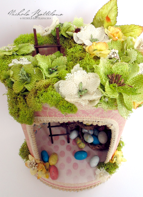 Upcycled bunny home for Petaloo & Authentique - Nichola Battilana