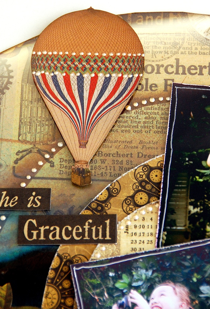 She Is Graceful layout by Irene Tan3