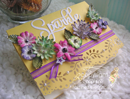 Flowers paintables last