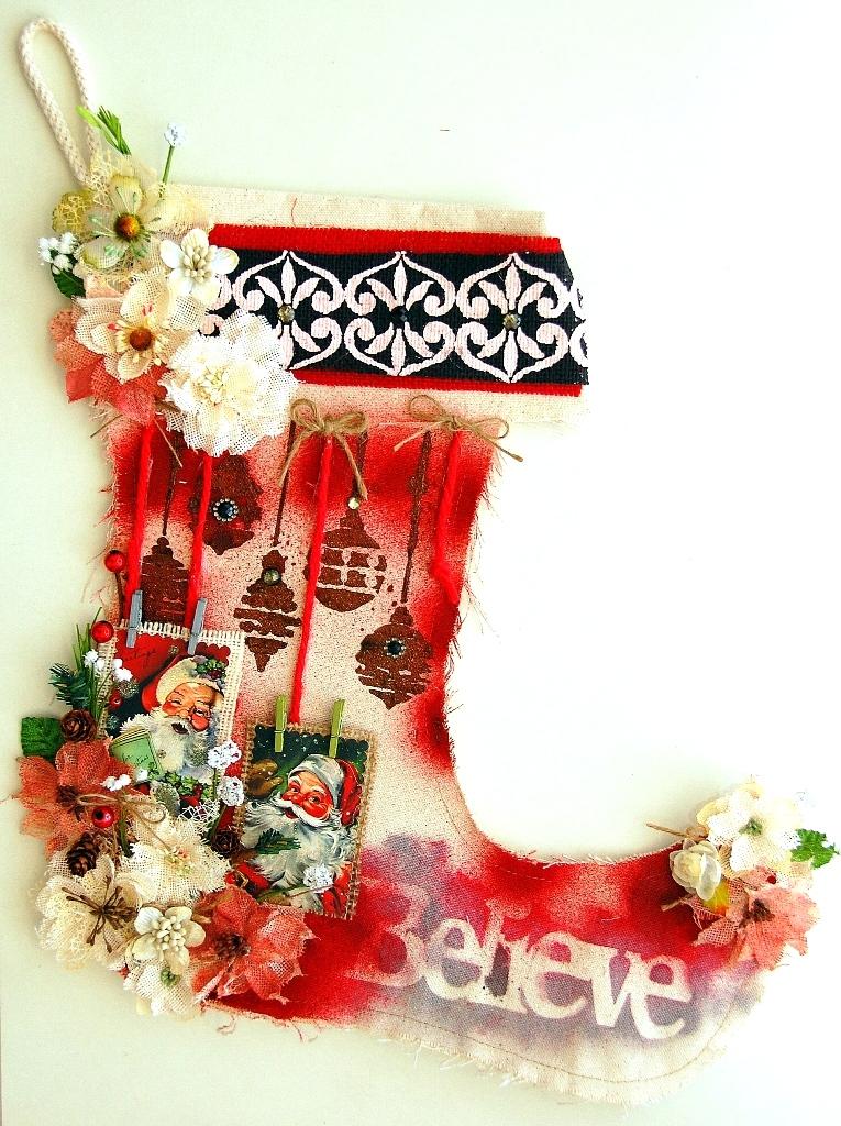 Believe Stocking by Irene Tan 01