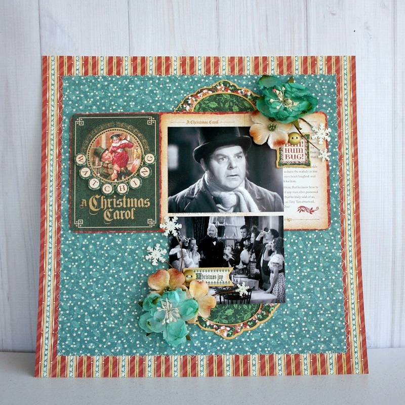 Shellye McDaniel-Christmas Tradition Layout1