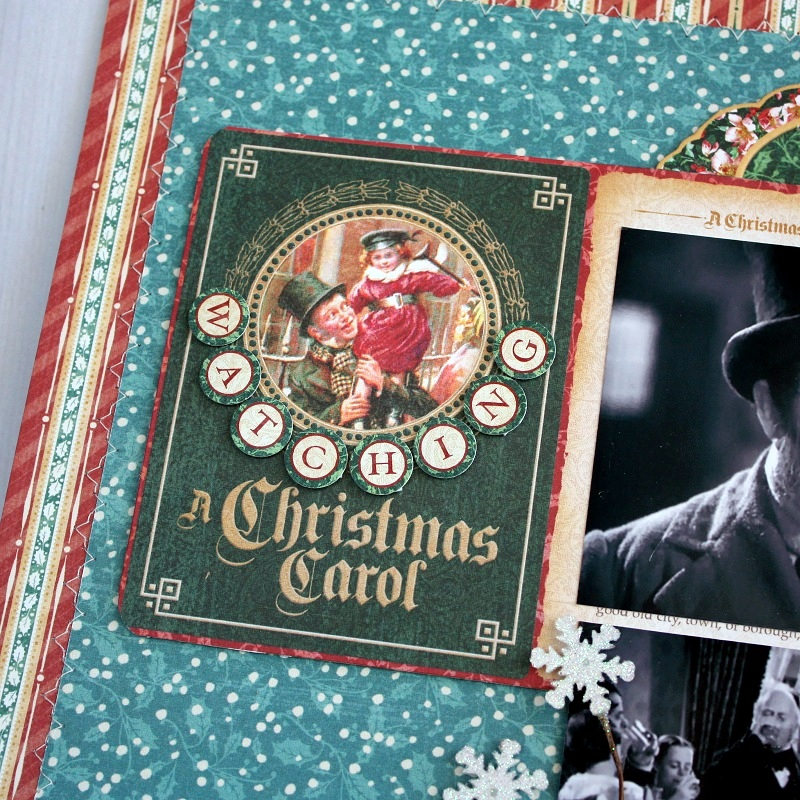 Shellye McDaniel-Christmas Tradition Layout2