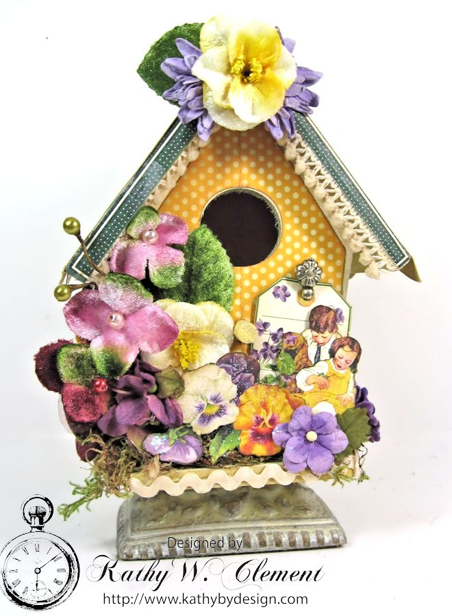 Petaloo Bird House 01