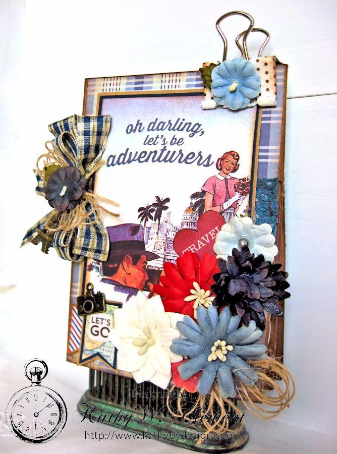 Authentique Petaloo Blog Hop Travel Album 04