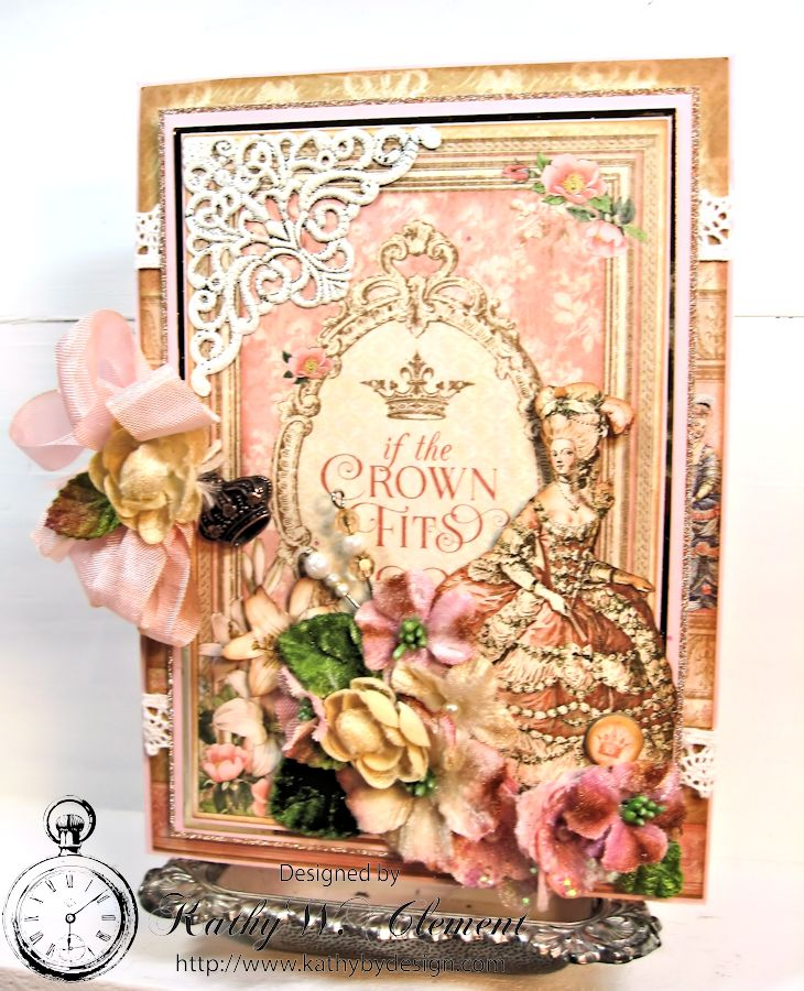 If the Crown Fits Gilded Lily Graphic 45 Petaloo 02
