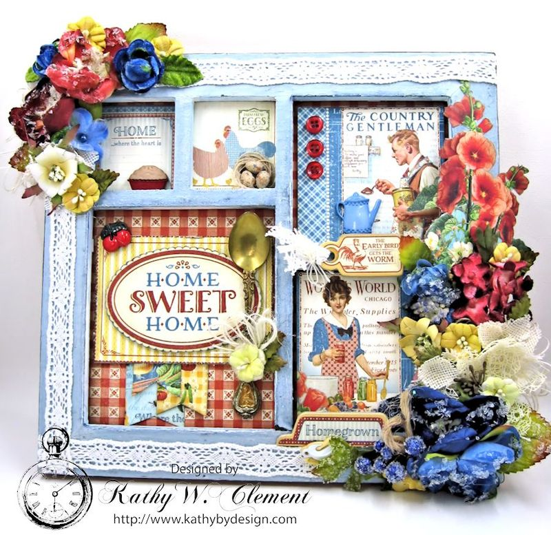 Home Sweet Home Mother's Day Frame Petaloo 01