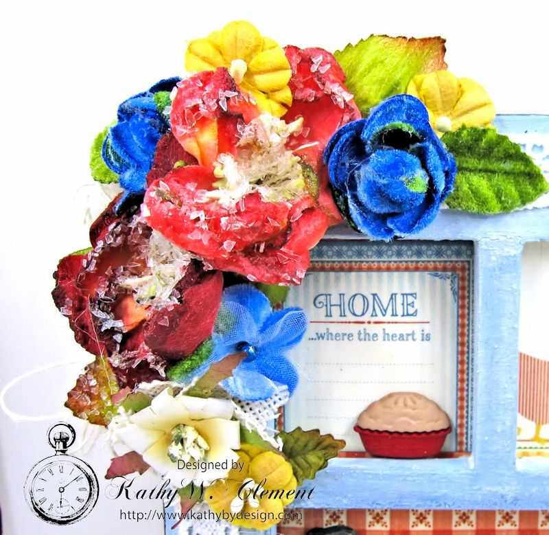 Home Sweet Home Mother's Day Frame Petaloo 04