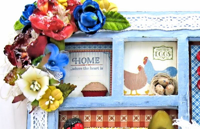 Home Sweet Home Mother's Day Frame Petaloo 06