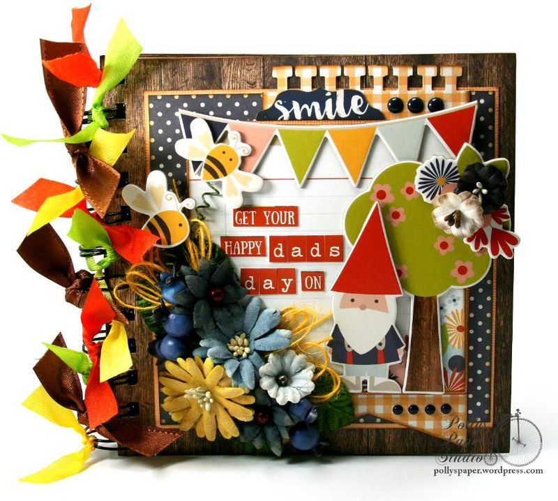Get Your Happy Dads Day On Mini Album Petaloo Simple Stories 1