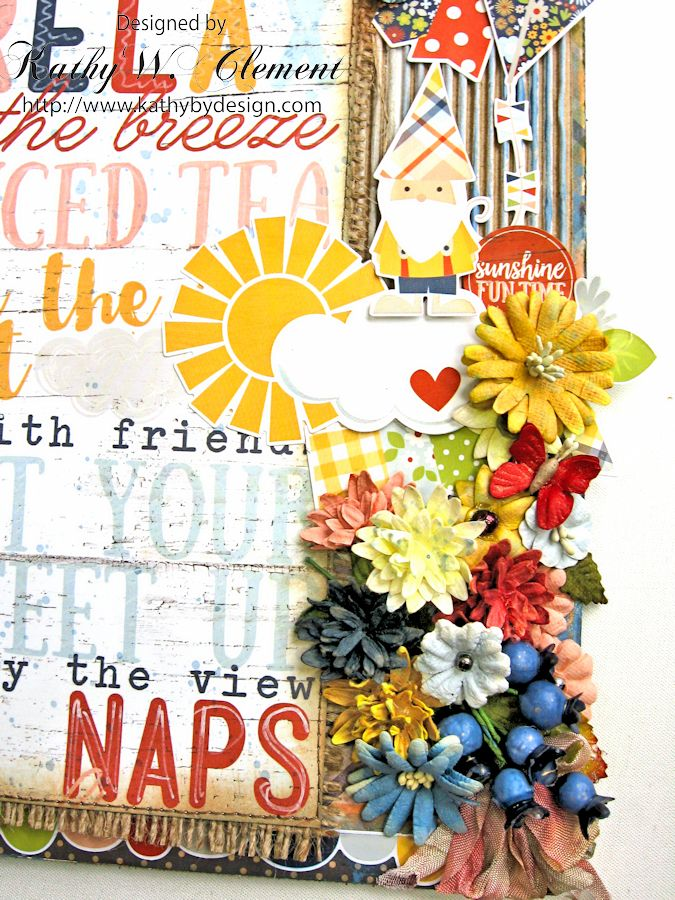 Porch Rules Altered Clipboard by Kathy Clement Petall Simple Stories Blog Hop Bloom and Grow 04