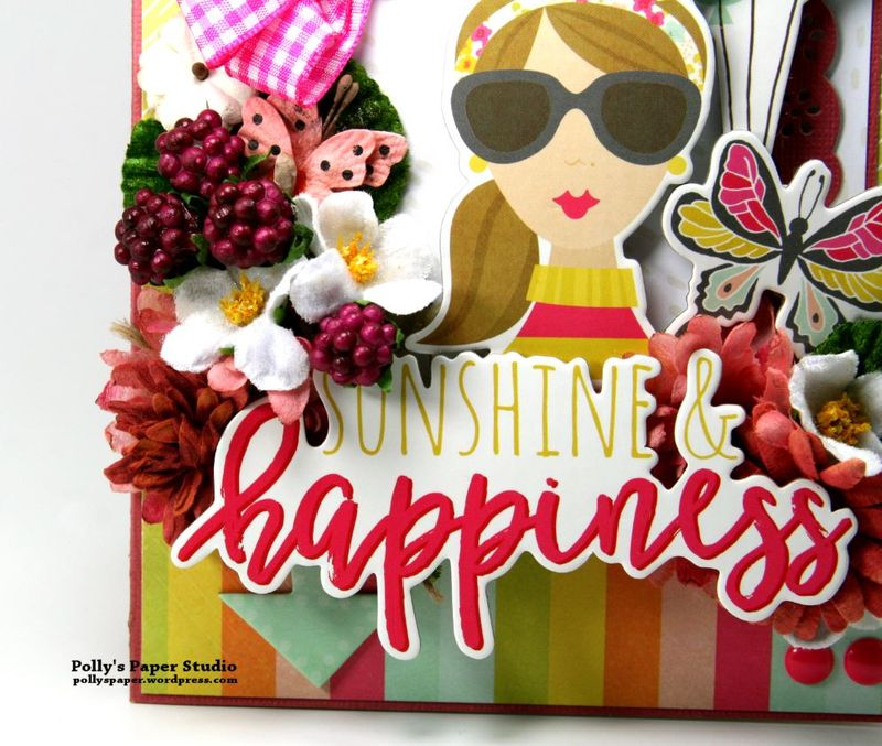 Sunshine & Happiness Card Simple Stories Petaloo 2
