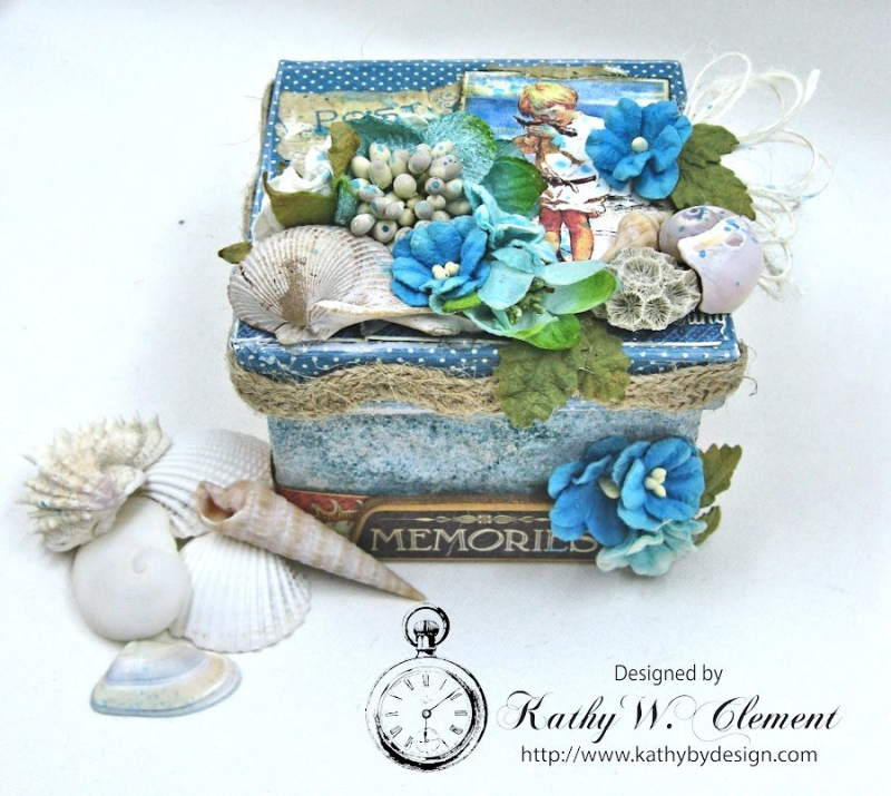 Seashore Treasure Box by Kathy Clement for Petaloo International, Product Graphic 45 Children's Hour Photo 1